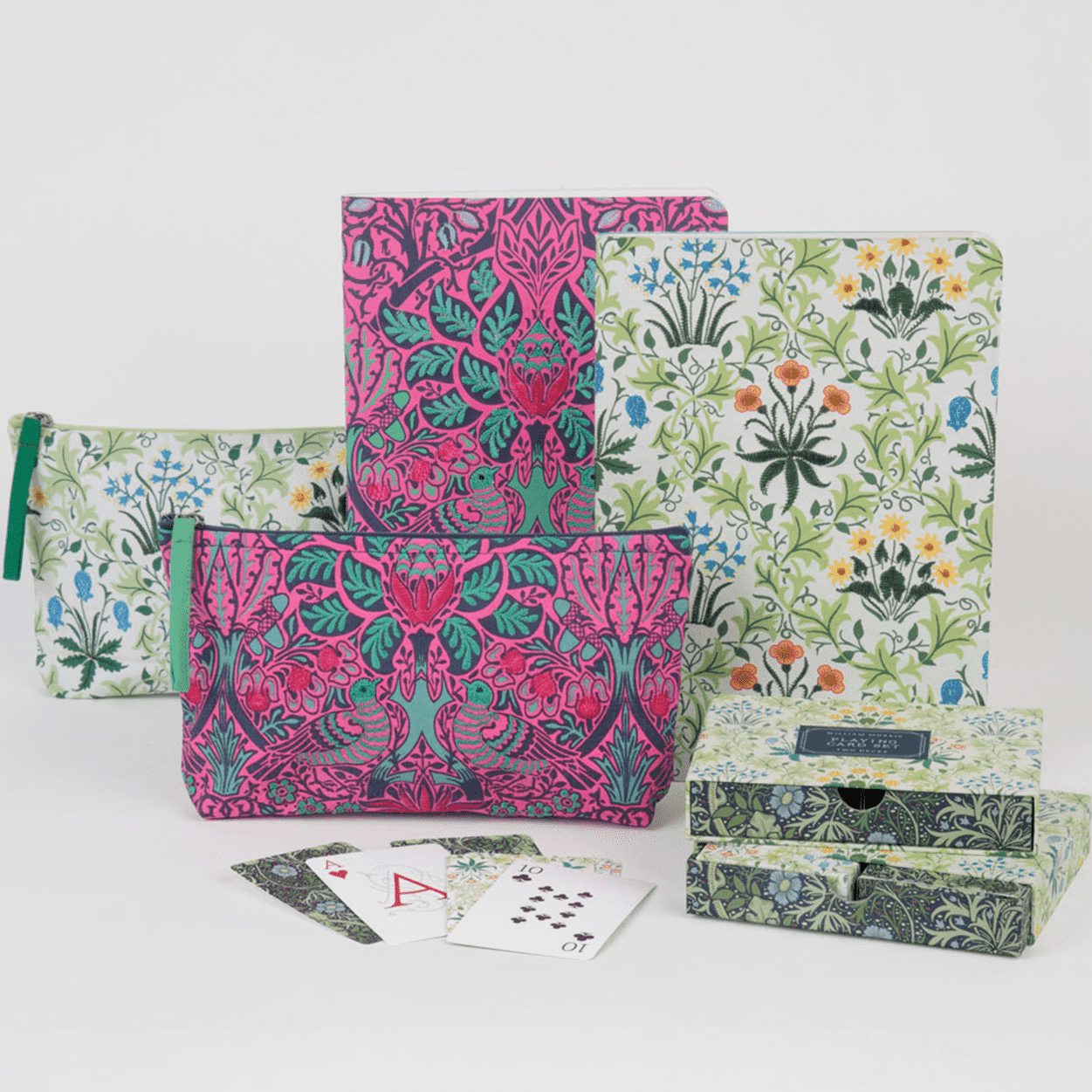 William Morris Celandine Handmade Embroidered Journal Journals and Notebooks Galison