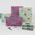 William Morris Dove And Rose Handmade Embroidered Journal Journals and Notebooks Galison