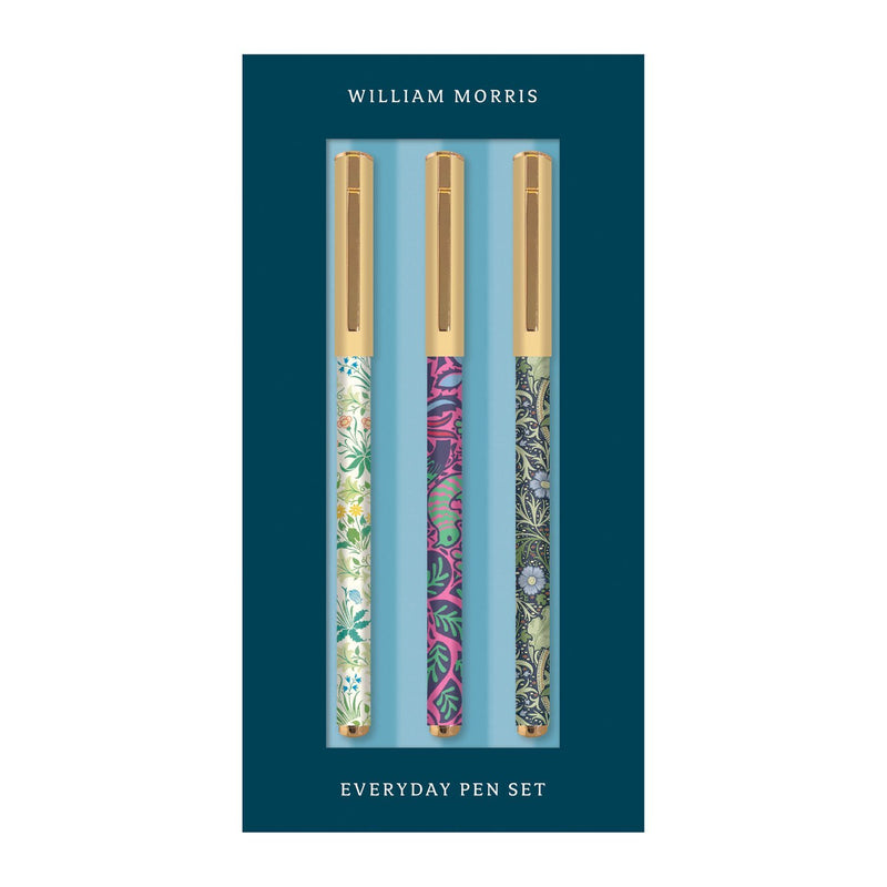 William Morris Everyday Pen Set Pens and Pencils Galison