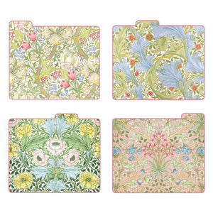 William Morris Morning Garden File Folders Sale Galison