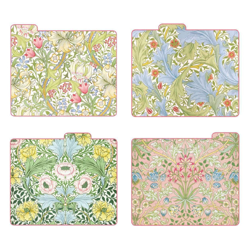 William Morris Morning Garden File Folders File Folders Galison