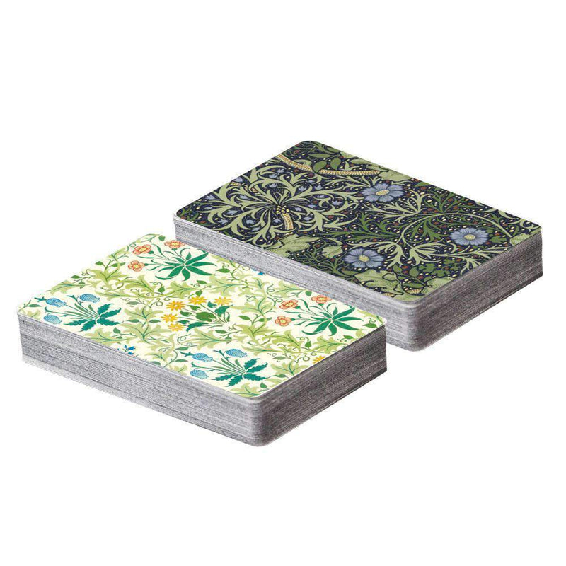 William Morris Playing Card Set Playing Cards Galison