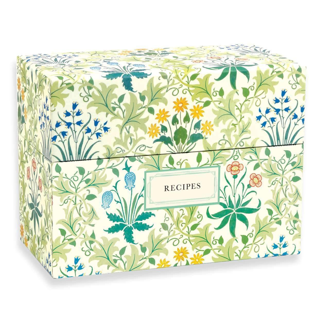 William Morris Recipe Box Sale Galison