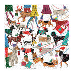 Winter Dogs 500 Piece Jigsaw Puzzle holiday 500 Piece Puzzles Galison