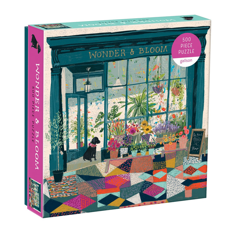 Wonder & Bloom 500 Piece Puzzle 500 Piece Puzzles Galison