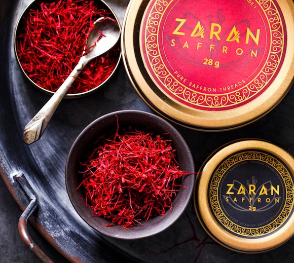 Buy Persian Saffron Threads Online - Zaran Saffron