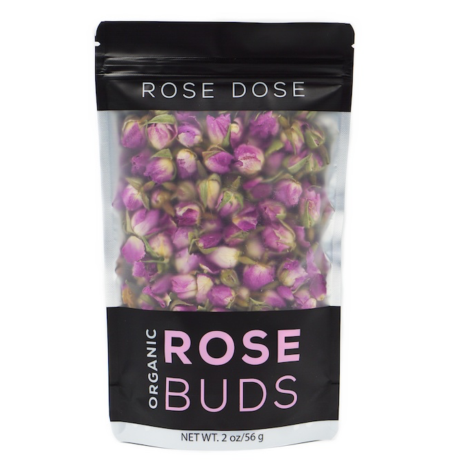 Organic Rose Buds - Pouch