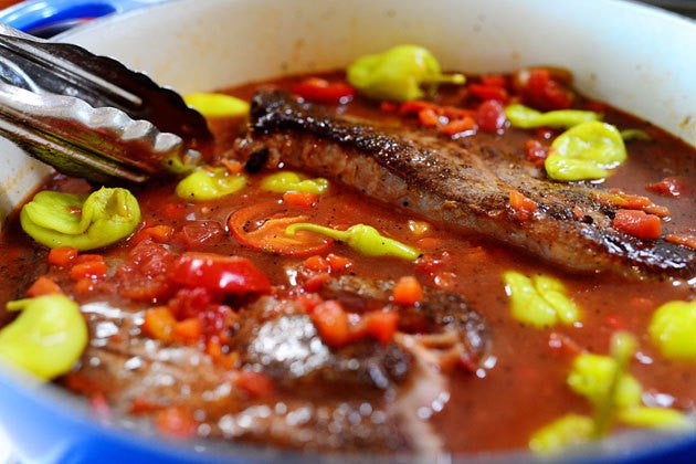 Hot and Spicy Italian Drip Beef Recipe
