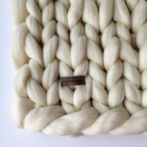 Chunky Baby Blanket Chunky Blankets By Tink Winston