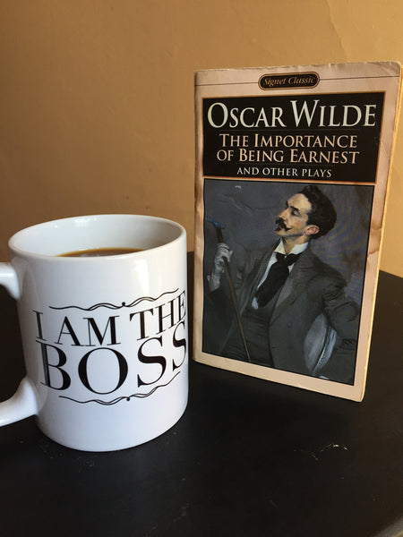 I am the Boss™ Mug (black victorian)