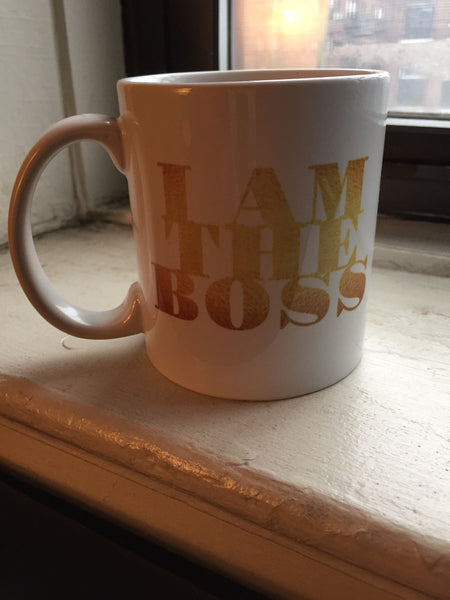 I am the Boss™ Mug (golddust v.2)