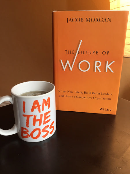 I am the Boss™ Mug (orange lipstick)
