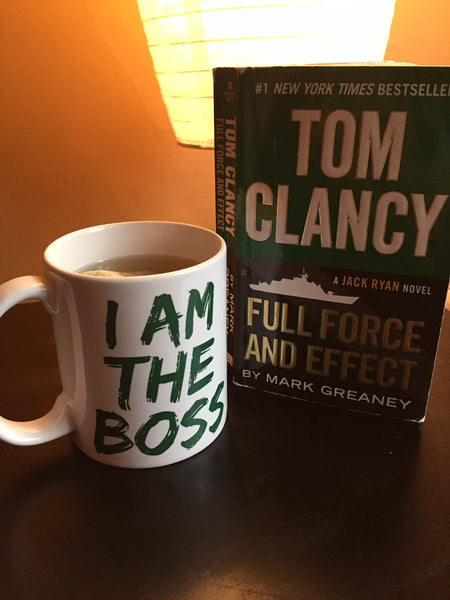I am the Boss™ Mug (forrest green lipstick)