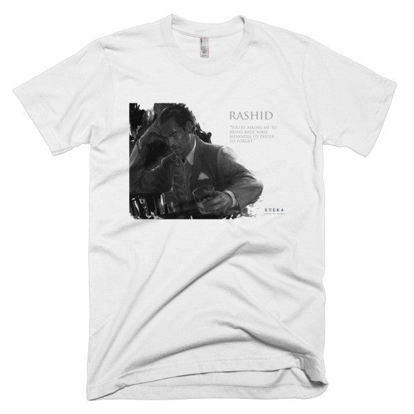 Rashid Character Profile Short sleeve Men's T-shirt