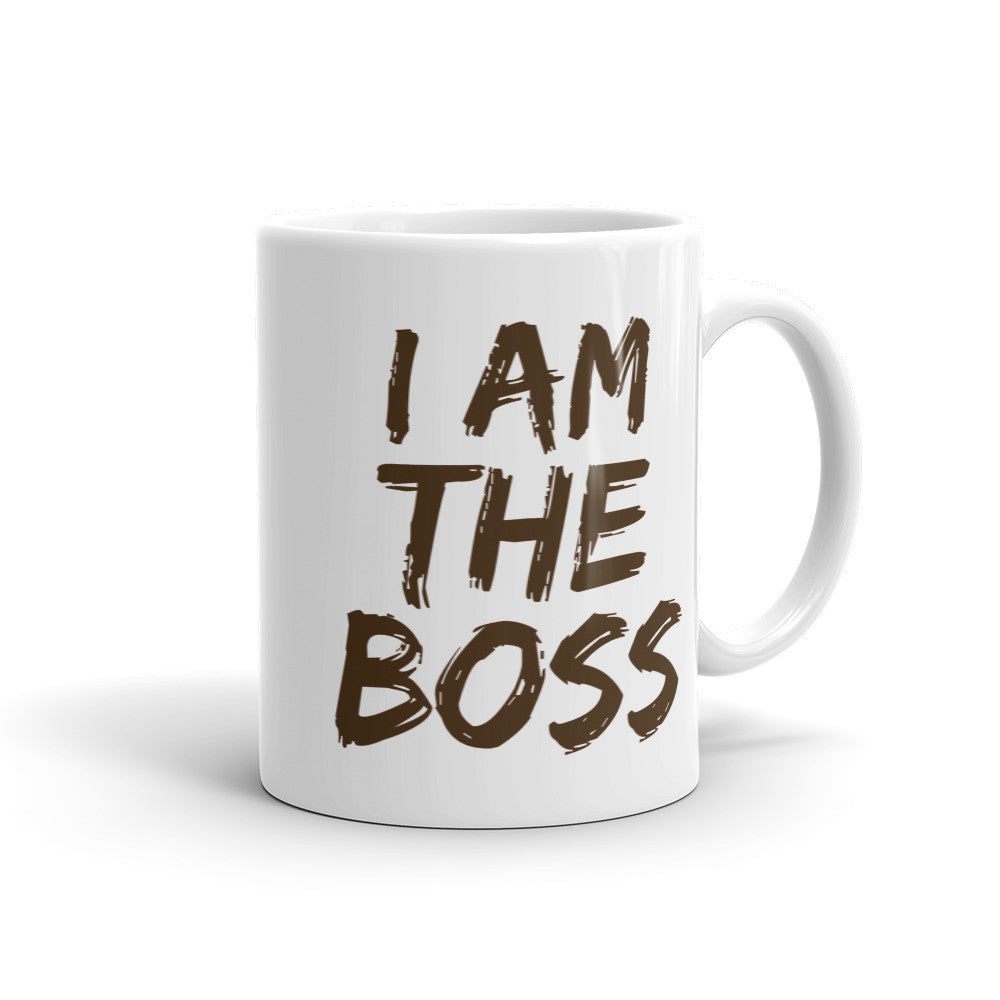I am the Boss™ Mug (sepia lipstick)