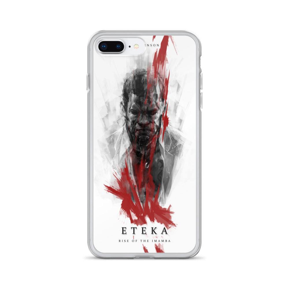 Eteka Rise of the Imamba Book Cover iPhone Case