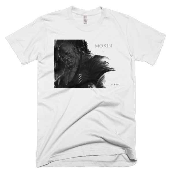 Mokin Character Profile Short sleeve Men's T-shirt