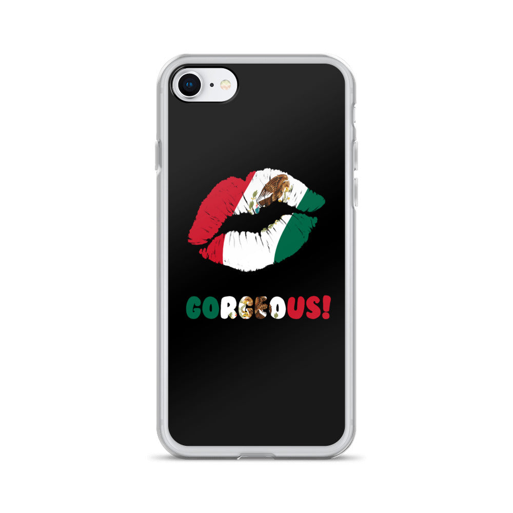 """Gorgeous!™"" (Mexico + Black) iPhone Case"