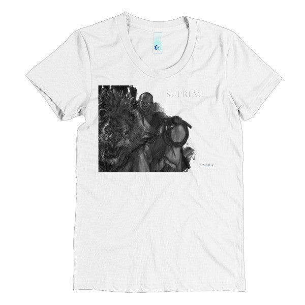 Supreme Character Profile Short Sleeve Women's T-Shirt
