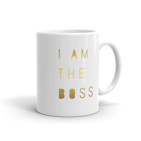 I am the Boss™ Mug (golddust v.1)