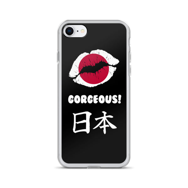 """Gorgeous!™"" (Japan + Black) iPhone Case"