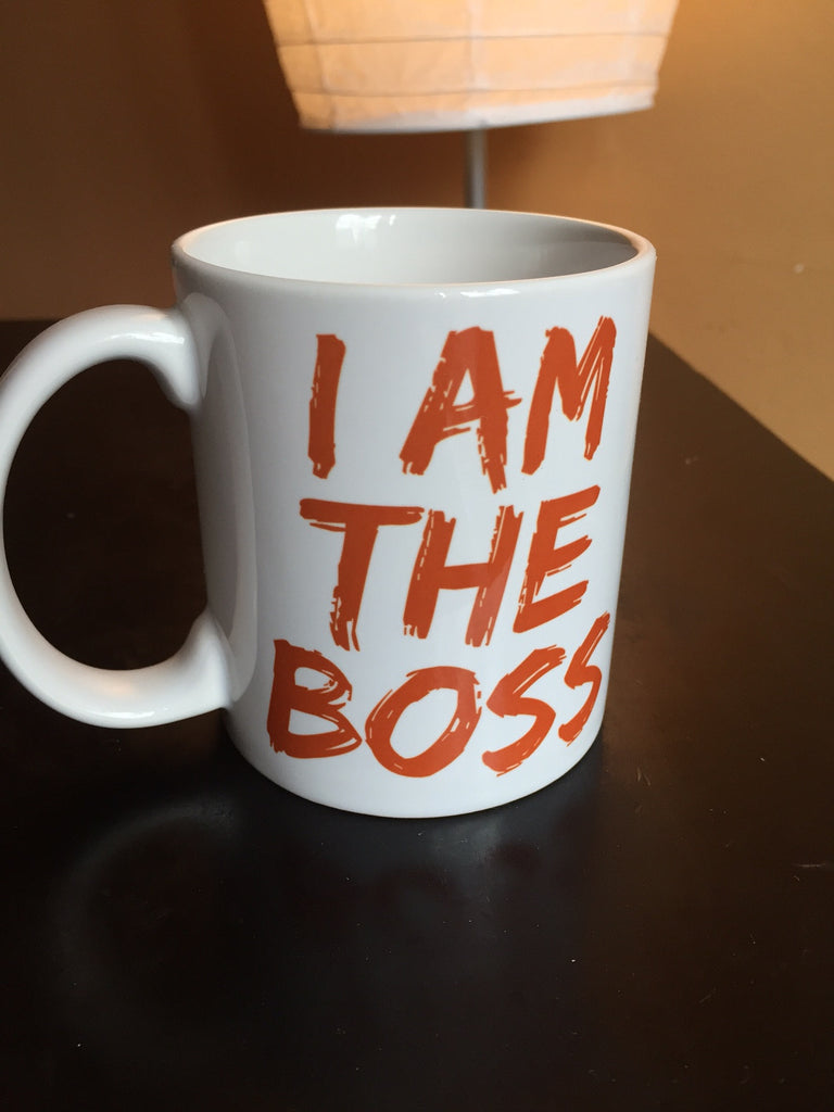 I am the Boss™ Mug (tan lipstick)