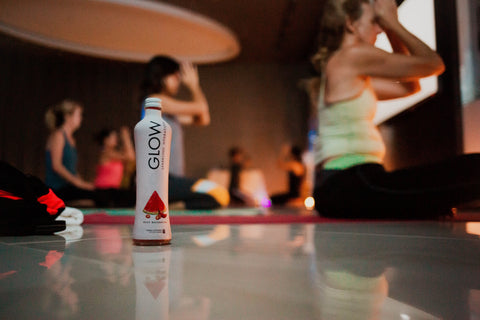 GLOW Sparkling Electrolyte Hydration x Core Power Yoga