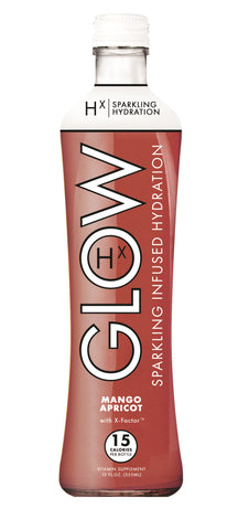 GLOW Sparkling Infused Beverages Spicy Watermelon Hydration