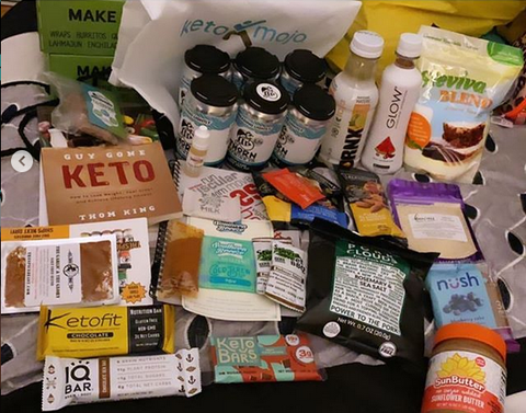 Keto Event Gift Bags Including GLOW Electrolyte Hydration