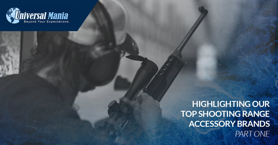 Highlighting Our Top Shooting Range Accessory Brands, Part One