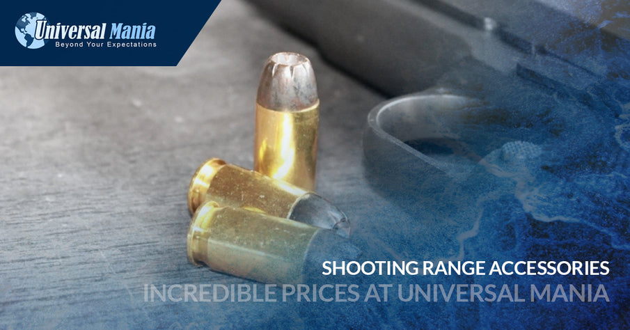 Shooting Range Accessories | Incredible Prices At Universal Mania