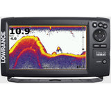 Lowrance Elite-9 CHIRP Fishfinder Chartplotter Combo (w/o Transducer)