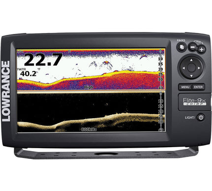 Lowrance Elite-9X CHIRP Sonar, No Transducer