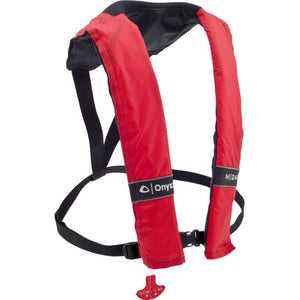 3100 M-24 Manual Inflatable Life Jacket (PFD) - Red
