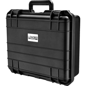 Loaded Gear HD-300 Hard Case, Black, Medium by BARSKA