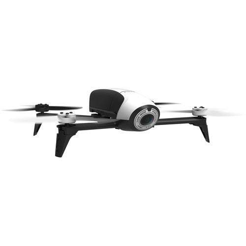 Parrot BeBop 2 Drone with 14 Megapixel Flight Camera - White