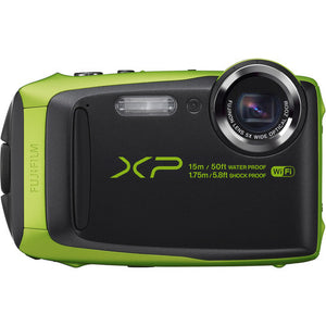 Fujifilm FinePix XP90 Digital 16.4 Megapixel Camera Lime