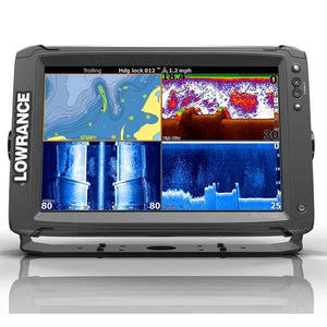 Lowrance Elite 12Ti, Mid/High/TotalScan Transducer & CMap Insight Pro