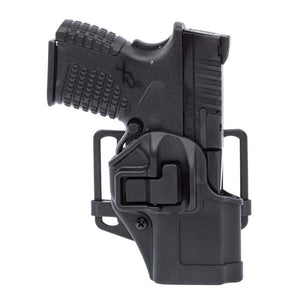Blackhawk! Serpa CQC, Belt & Paddle Holster, Plain Matte Black Finish Smith & Wesson M&P Shield 9/40