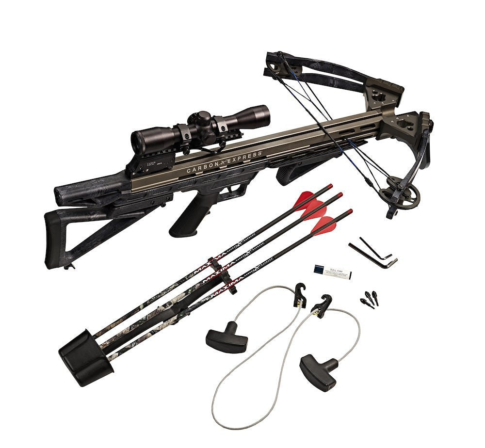 Carbon Express Intercept Supercoil LT Crossbow Ready-to-Hunt Kit