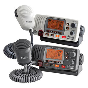 Cobra VHF Radio with Built in GPS Receiver