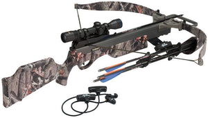 Vixen II 150LB Compact Limb System Light Stuff Crossbow Package