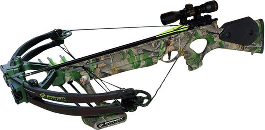 Predator Crossbow Package, 3 - 22-Inch Arrows, 4x32mm Scope