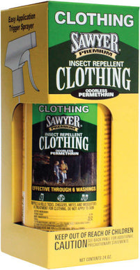 Sawyer Premium Permethrin Clothing Insect Repellent Trigger Spray
