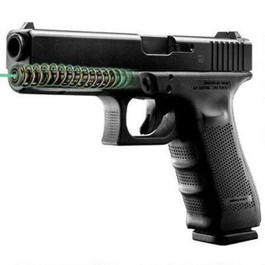 LaserMax Rod Mounted Green Laser for Glock 17L/24/34/35