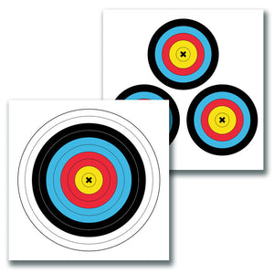 Eze-Scorer Archery Color 2Sd 18x18 - 5 pack