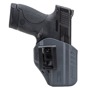 BlackHawk A.R.C. - Appendix Reversible Carry Inside the Pants Holster, Fits Glock 19/23/32, Ambidextrous, Urban Gray 417502UG