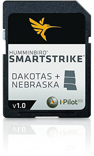 Humminbird 600036-1 SmartStrike Great Plains Map Card
