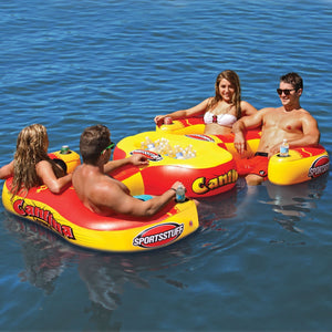 Sportsstuff Cantina Lounge Inflatable 4 Person Lounge