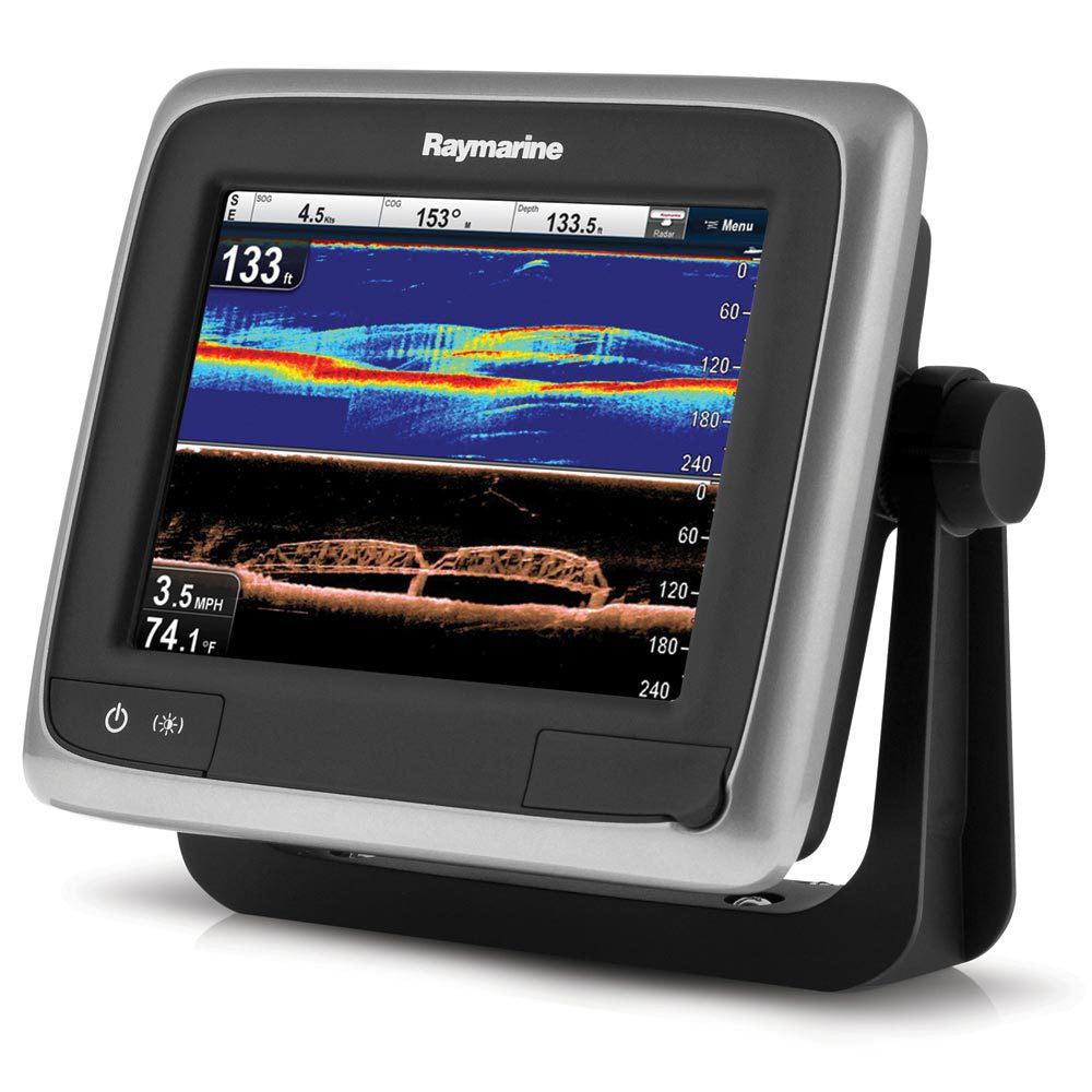 "Raymarine a68 Wi-Fi 5.7"" MFD with CHIRP DownVision"
